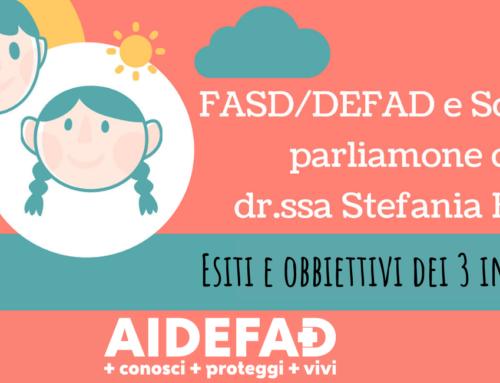 FASD/DEFAD e Scuola: parliamone con la dr.ssa Bazzo. Com'è andata?