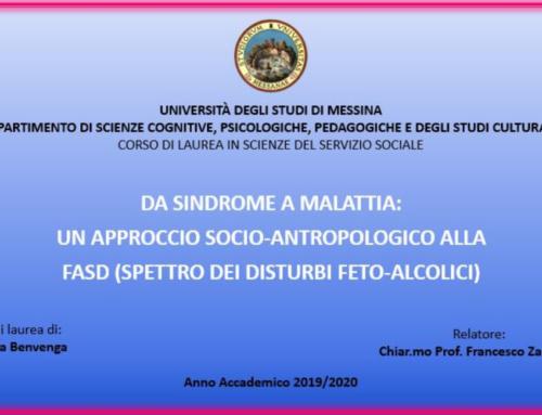 Da sindrome a malattia: un approccio socio-antropologico alla FASD (Spettro dei Disturbi Feto-Alcolici)